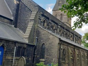 St Pauls Astley rear